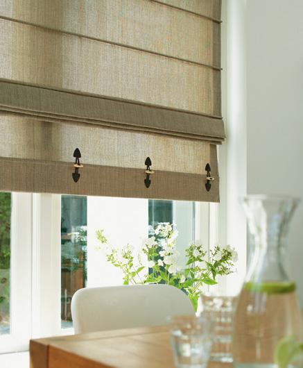 5 Fresh Ideas For Kitchen Window Treatments: Interieur Den Haag: Vouwgordijnen